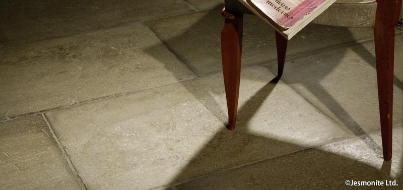 アート素材ジェスモナイト床材