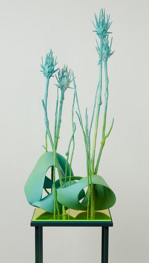artwork with Jesmonite ジェスモナイトを使用した彫刻作品